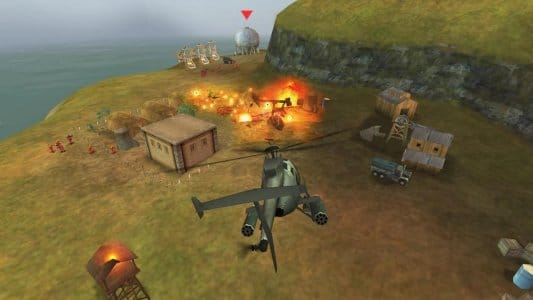 Hình ảnh game GUNSHIP BATTLE Helicopter 3D mobile in GUNSHIP BATTLE: Helicopter 3D