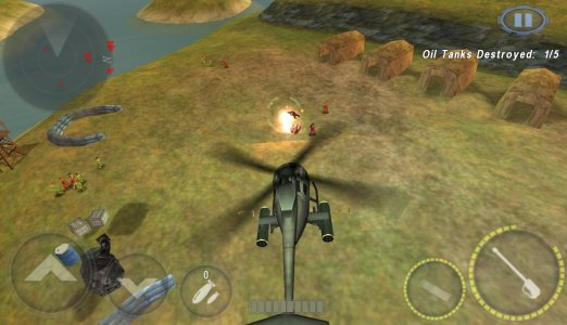 Hình ảnh game GUNSHIP BATTLE Helicopter 3D in GUNSHIP BATTLE: Helicopter 3D
