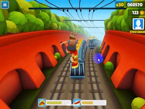 Hình ảnh game Subway Surfers in Subway Surfers
