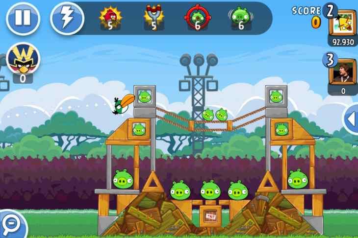 Hình ảnh game angry bird in Angry Bird