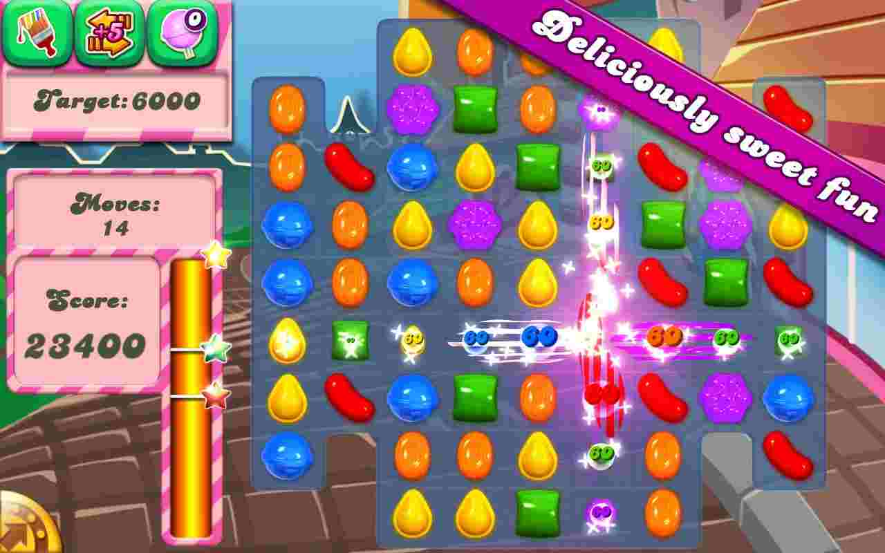 Hình ảnh tai game Candy Crush Saga in Candy Crush Saga