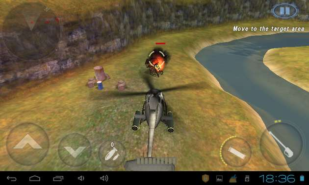 Hình ảnh tai game GUNSHIP BATTLE Helicopter 3D in GUNSHIP BATTLE: Helicopter 3D