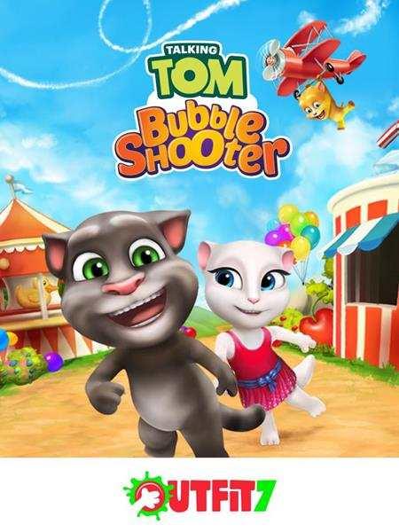 Hình ảnh tai game Talking Tom Bubble Shooter in Talking Tom Bubble Shooter