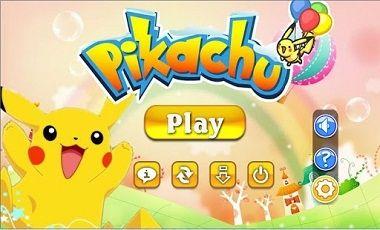 Hình ảnh tai game pikachu in Pikachu