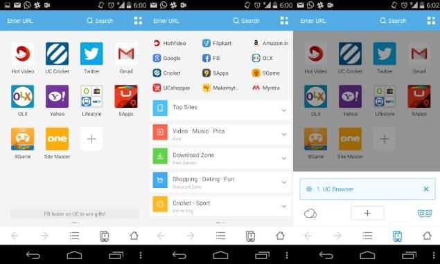 Hình ảnh tai uc browser in UC Browser