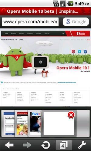 Hình ảnh ung dung Opera Mini in Opera Mini