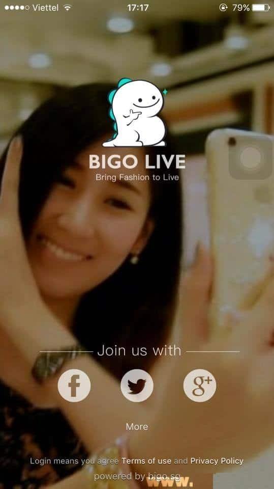 Hình ảnh Bigo Live mobile in Bigo Live