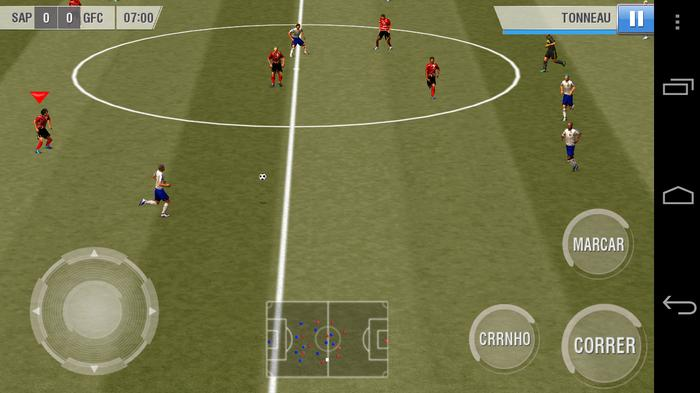 Hình ảnh game Real Football 2013 android in Real Football 2013