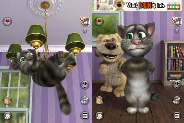 Hình ảnh game Talking Tom Cat mobile in Talking Tom Cat