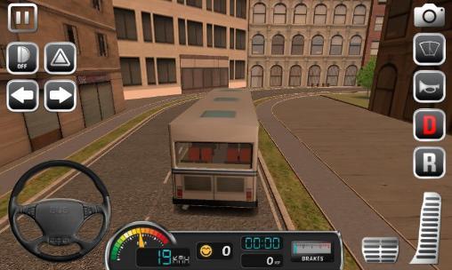 Hình ảnh game lai xe bus in Lái Xe Bus