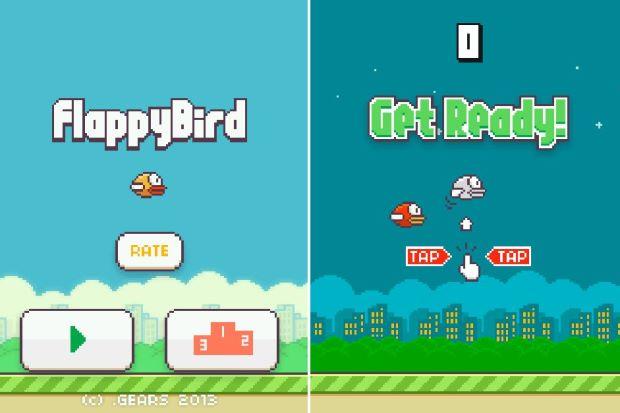 Hình ảnh tai game Flappy Bird in Flappy Bird