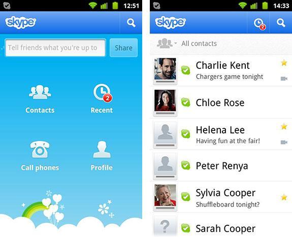 Hình ảnh ung dung Skype in Skype