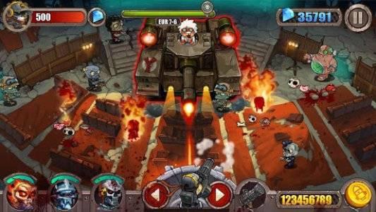 Hình ảnh game ban zombie in Bắn Zombie