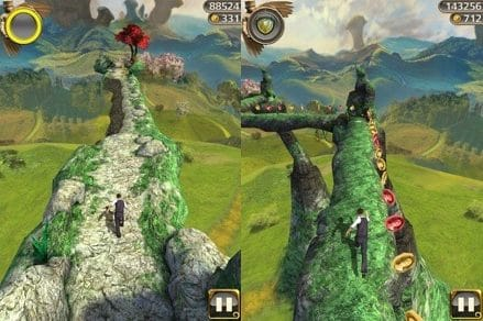 Hình ảnh game chay tron quai vat in Chạy Trốn Quái Vật