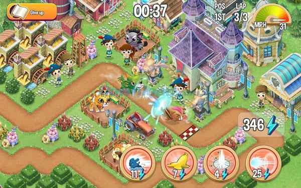 Hình ảnh game dua thu in Đua Thú