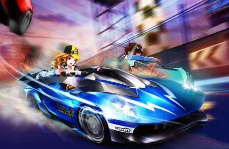 Hình ảnh game zing speed in Zing Speed