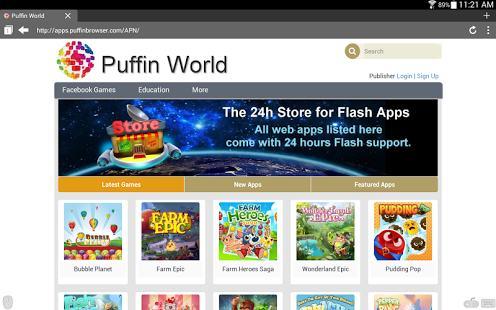 Hình ảnh tai Puffin Web Browser in Puffin Web Browser
