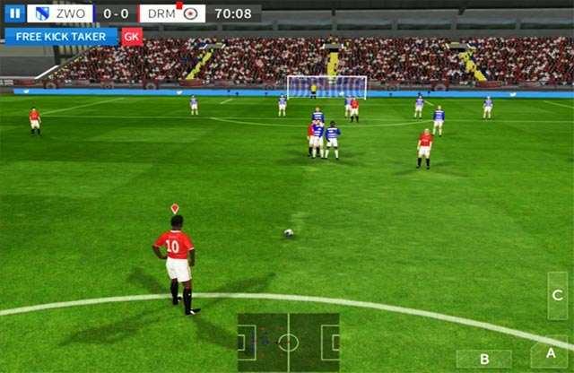 Hình ảnh tai game Dream League Soccer in Dream League Soccer