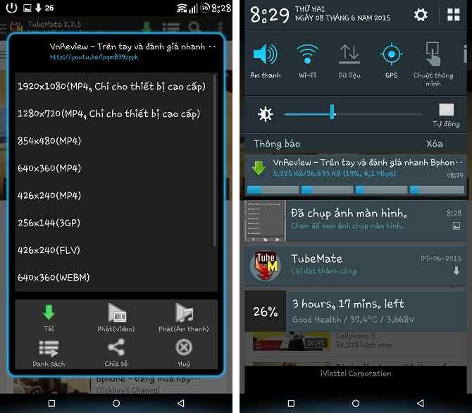 Hình ảnh cach tai video youtube tren dien thoai in 3 cách tải video Youtube đơn giản nhất trên điện thoại, máy tính, laptop