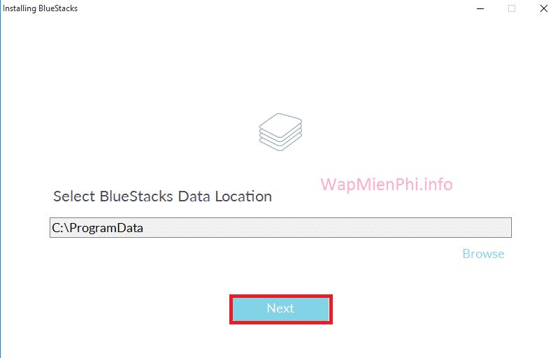 Hình ảnh cai dat Bluestacks in Cách cài đặt & sử dụng BlueStacks trên máy tính