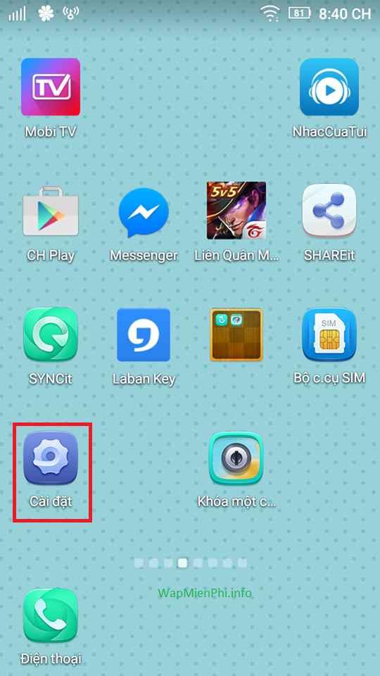 Hình ảnh cai dat lich bat tat nguon cho may lenovo in Cách cài lịch hẹn giờ bật tắt nguồn điện thoại Lenovo