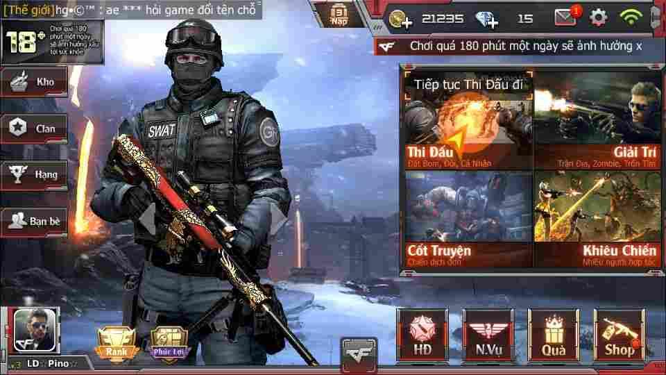 Hình ảnh game Crossfire Legends in Crossfire Legends