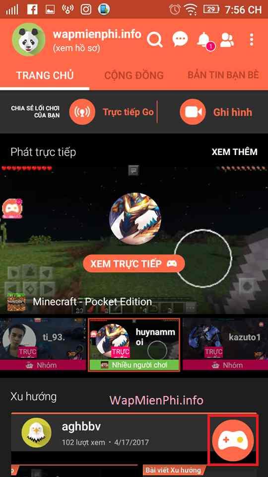 Hình ảnh huong dan cach live stream voi Omlet Arcade in Hướng dẫn Live Stream chơi game trên Facebook, Youtube với Omlet Arcade