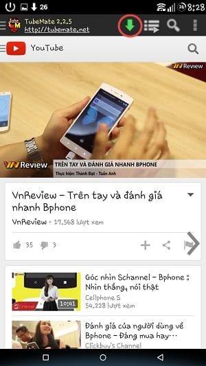 Hình ảnh tai video youtube tren dien thoai in 3 cách tải video Youtube đơn giản nhất trên điện thoại, máy tính, laptop