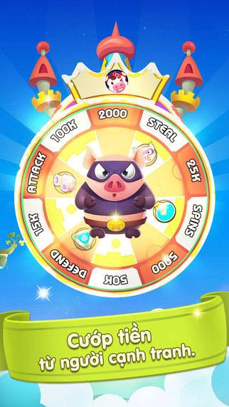 Hình ảnh game heo den roi in Heo Đến Rồi