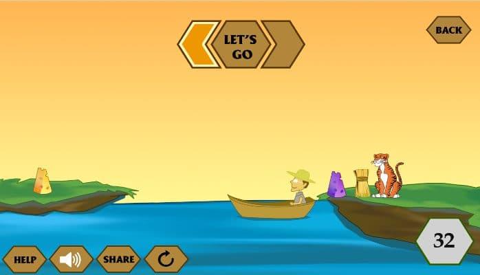 Hình ảnh game qua song iq in Qua Sông IQ