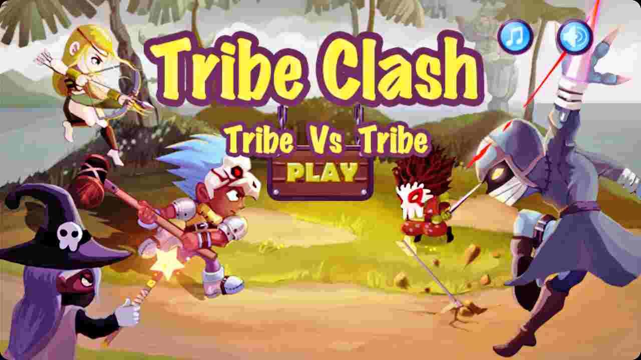 Hình ảnh tai game Tribe Clash in Tribe Clash