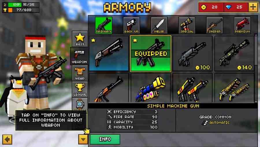 Hình ảnh game Pixel Gun 3D in Pixel Gun 3D