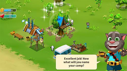Hình ảnh tai game Talking Tom Camp in Talking Tom Camp