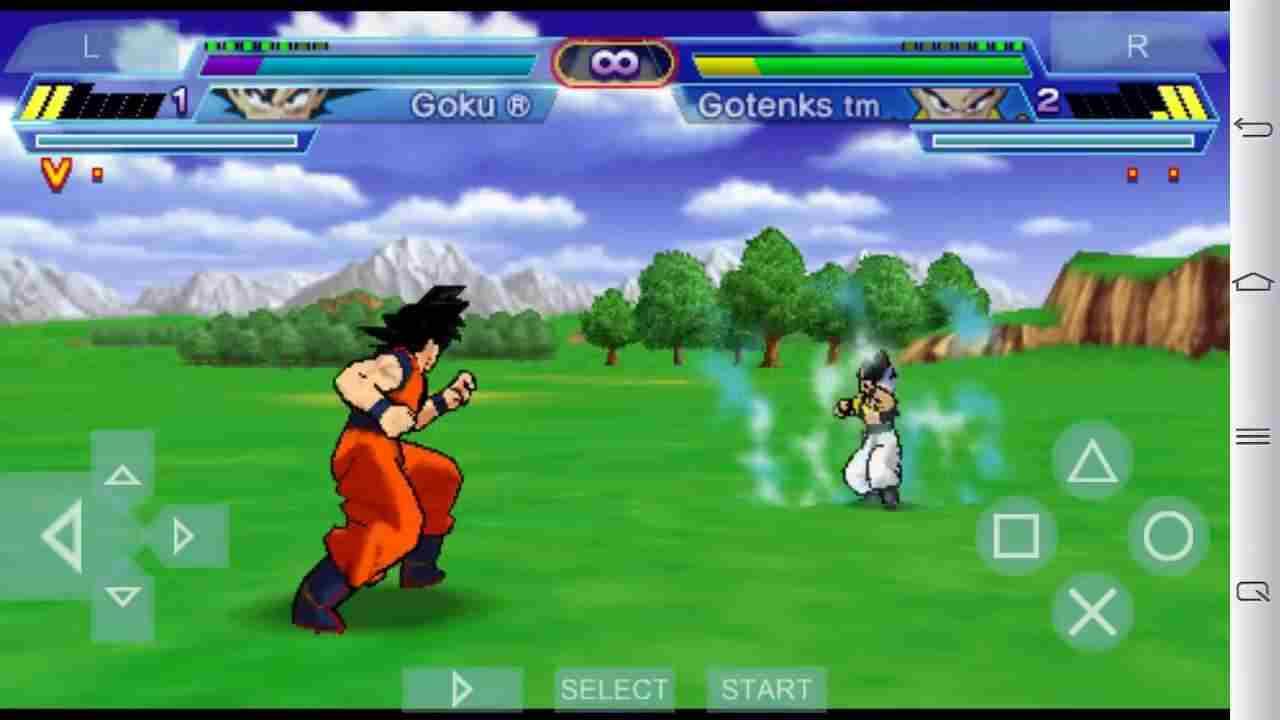 Hình ảnh tai game gia lap Dragon Ball Z Shin Budokai Another Road in Dragon Ball Z Shin Budokai Another Road