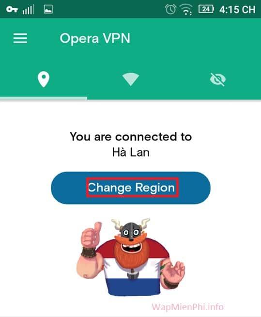 Hình ảnh cach dung Opera Free VPN in Opera VPN