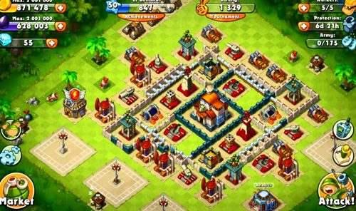 Hình ảnh game Jungle Heat War of Clans in Jungle Heat: War of Clans
