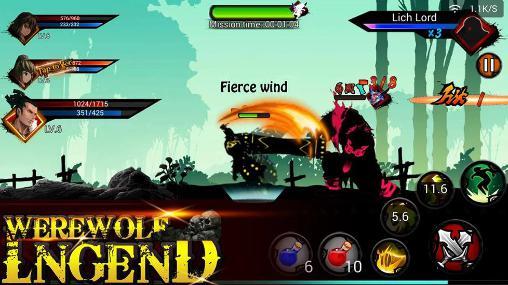 Hình ảnh tai game Werewolf Legend in Werewolf Legend