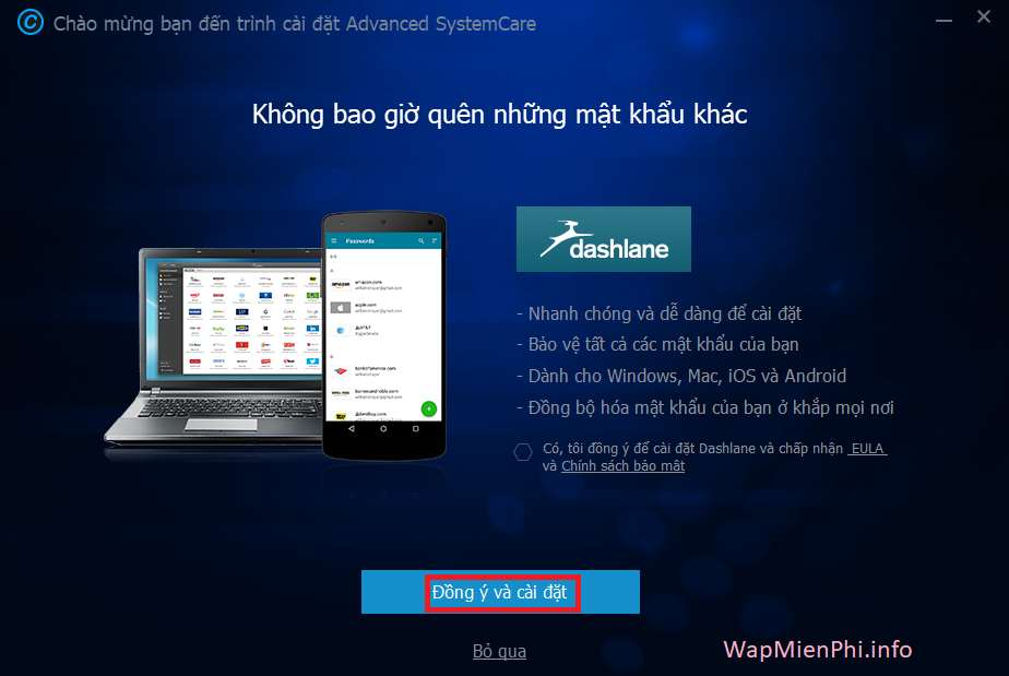 Hình ảnh cach cai dat Advanced System Care in Advanced SystemCare Pro 10