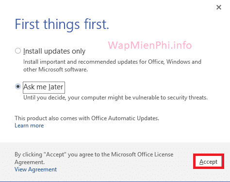 Hình ảnh cach cai dat Office Visio in Office Visio 2016