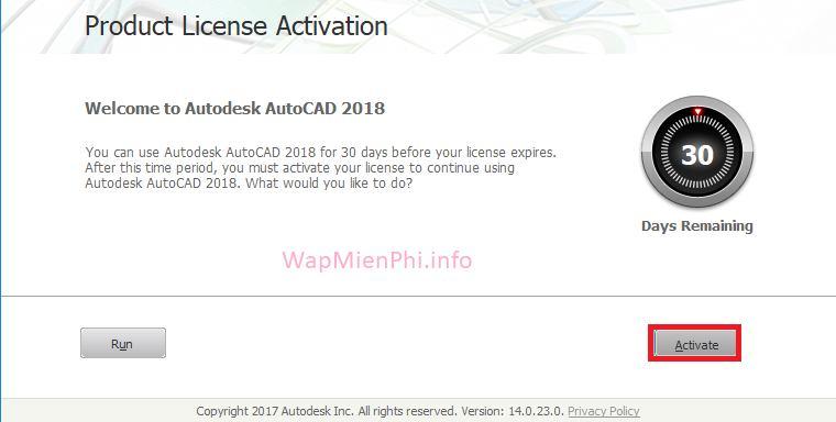 Hình ảnh cai autocad 2018 in AutoCAD 2018