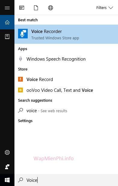 Hình ảnh ghi am tren may tinh windows 10 in Phần mềm ghi âm trên máy tính Windows 7/8/8.1/10 cực tốt