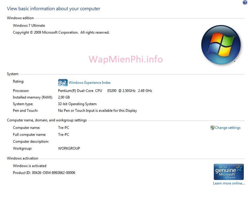 Hình ảnh key active win 7 in Cập nhật key Win 7 mới nhất, kích hoạt bản quyền Windows 7 ngay