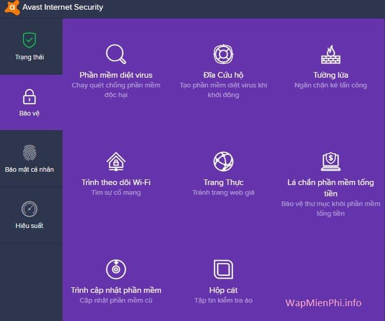 Hình ảnh tai Avast Internet Security in Avast Internet Security 2017
