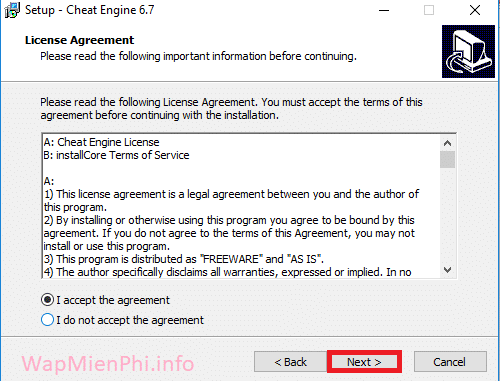Hình ảnh cach cai dat Cheat Engine in Cheat Engine
