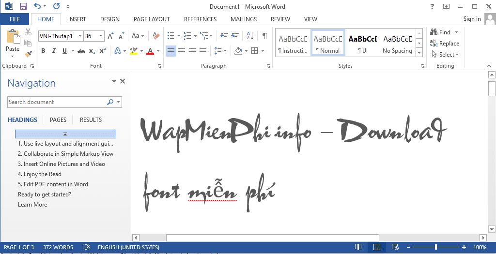 Hình ảnh download font thu phap in Font Thư Pháp