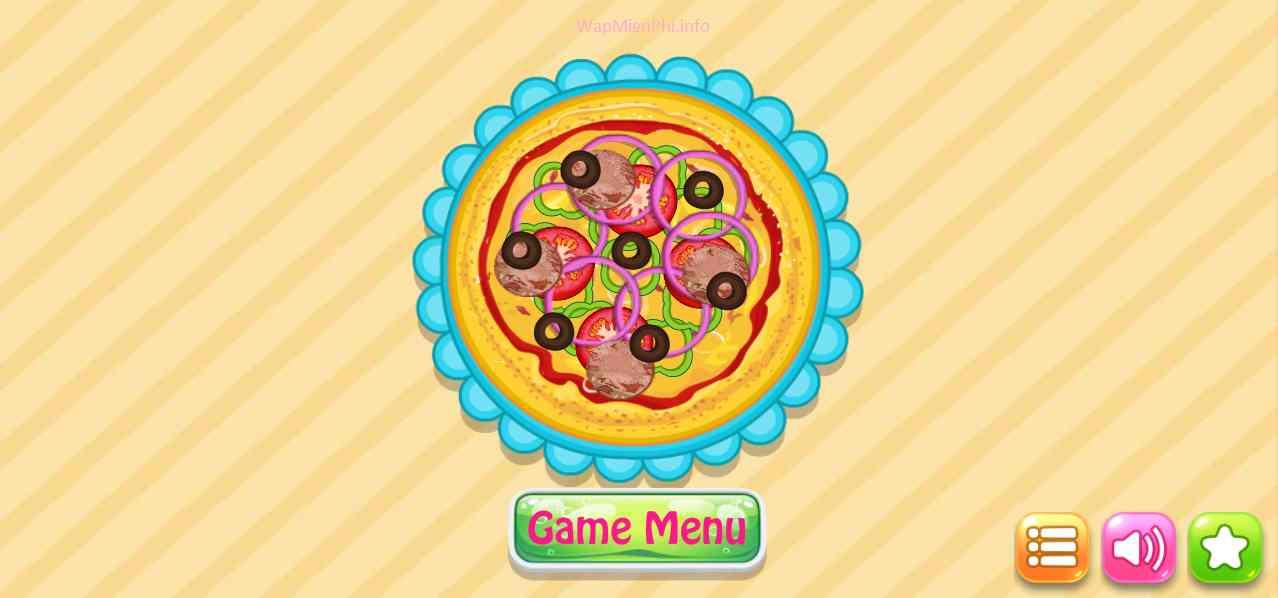 Hình ảnh game Pizza in Làm Bánh Pizza