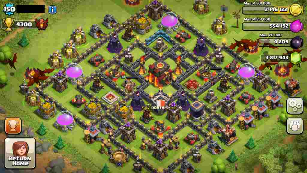 Hình ảnh game Clash of Clans in Clash of Clans