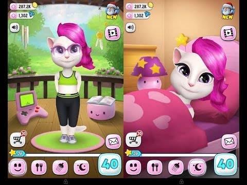 Hình ảnh game my angela in My Talking Angela