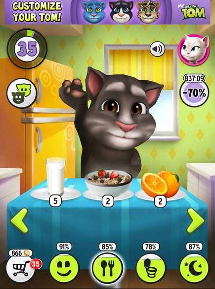 Hình ảnh game meo tom in Mèo Tôm