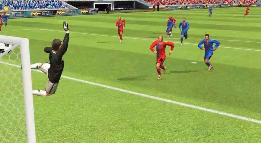 Hình ảnh tai game Real Football 2013 in Real Football 2013